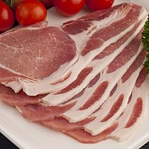 view ENGLISH SLICED SHORT BACK BACON 500gr details