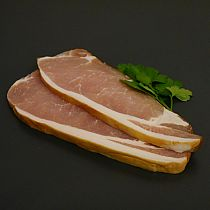 view ENGLISH SLICED SMOKED BACK BACON 500gr details
