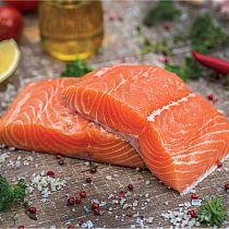 view FRESH SALMON FILLETS details